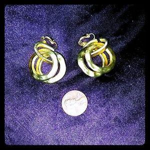 Vintage Kjl earrings